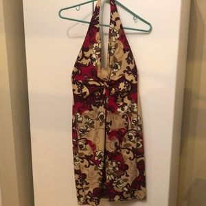 Gorgeous halter neck dress